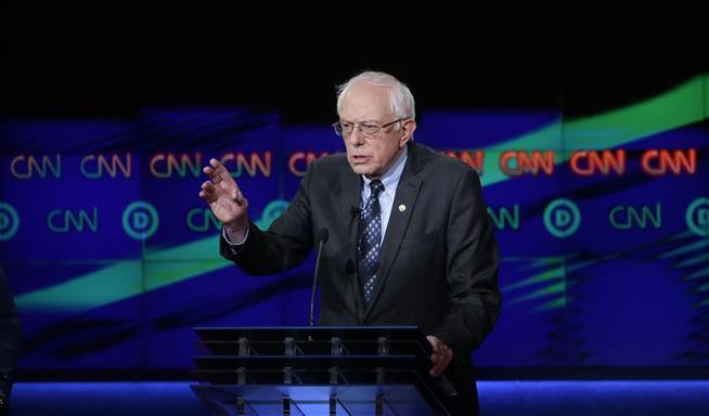 WATCH: Bernie Sanders is proud to be a Jew
