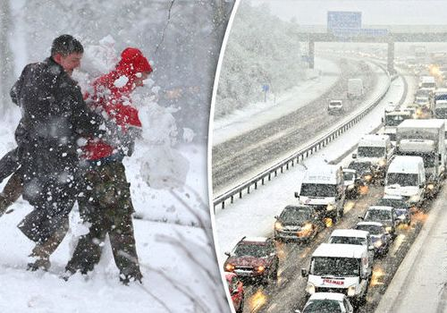 Britain hit by SHIVERING temps: Stay Warm