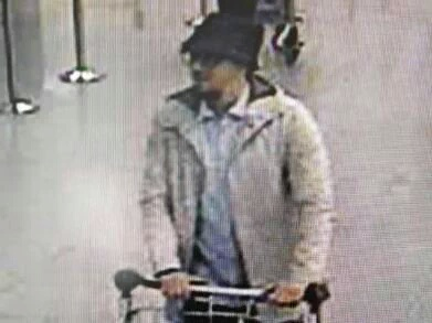 PHOTO: THE third suspect in the Brussel 's terrorist attacks