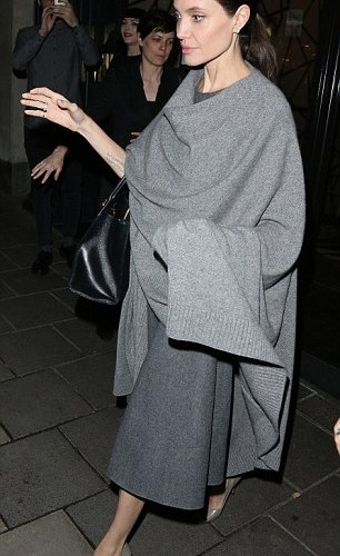 PHOTOS: Angelina Jolie pictured on dinner date with William Hague