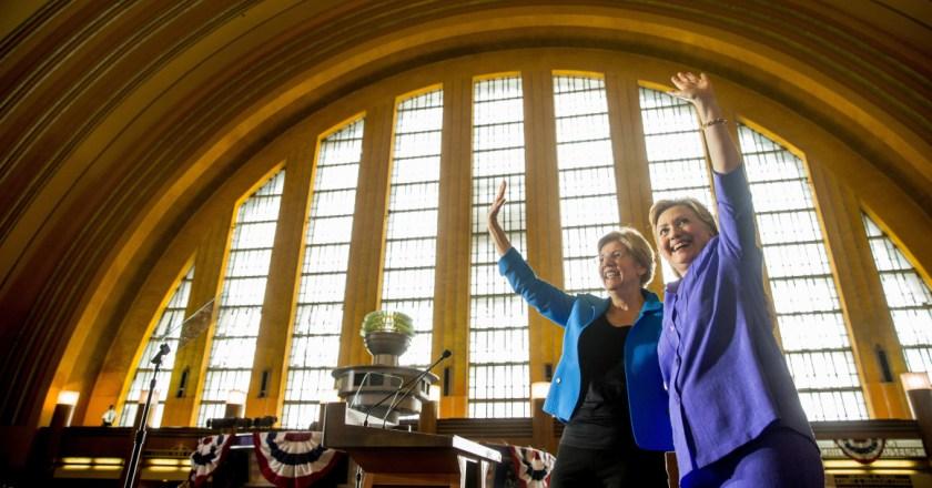 Does Hillary Clinton still require the power of Elizabeth Warren ?