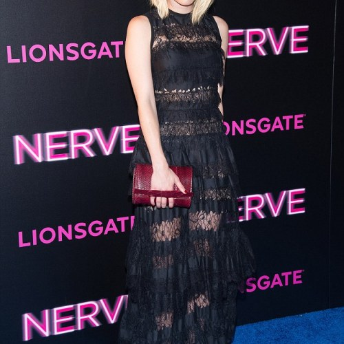 Look of the Week: Emma Roberts at a movie premiere in New York City
