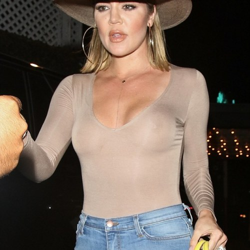 Khloe Kardashian leaves everything on display as she heads out for date with Blac Chyna