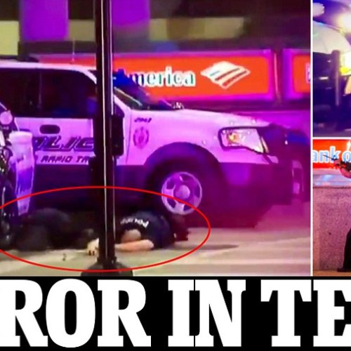 BREAKING:  10 officers shot, 3 dead, as two snipers unleash wrath at Dallas protests