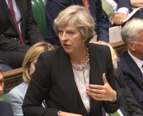 Theresa May indicates the U.K is getting a major overhaul on driving laws