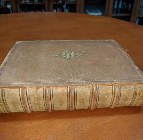 College student finds centuries old bible