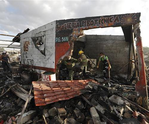 All we know about the firework tragedy in Mexico