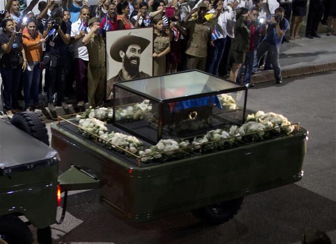 Fidel Castro has been laid to rest