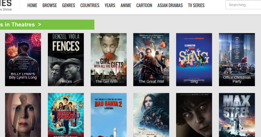 Here are the best 3 sites to watch movies & television  online