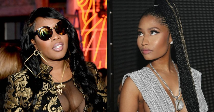 """Remy Ma and Nicki Minaj are engaged in a heated """"feud"""""""