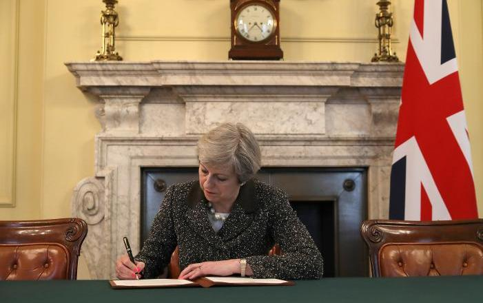 Article 50 has been triggered in the United Kingdom