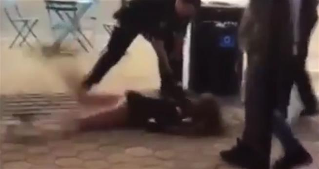 Video of cop body slamming young woman sparks backlash: Graphic Content