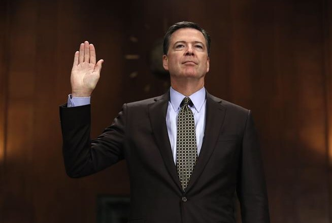 James Comey, director of the FBI, has been fired over his lies about Hillary Clinton
