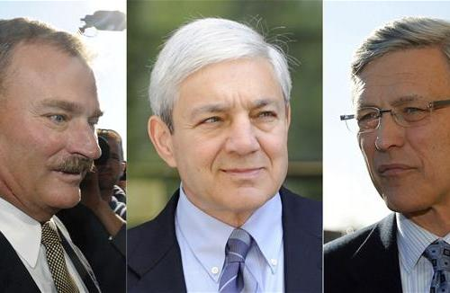 Three more in jail years after Jerry Sandusky 's sex circus unraveled