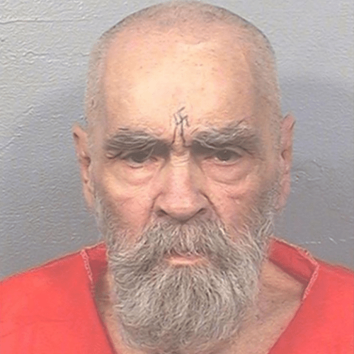 Charles Manson has a new and creepy looking mugshot