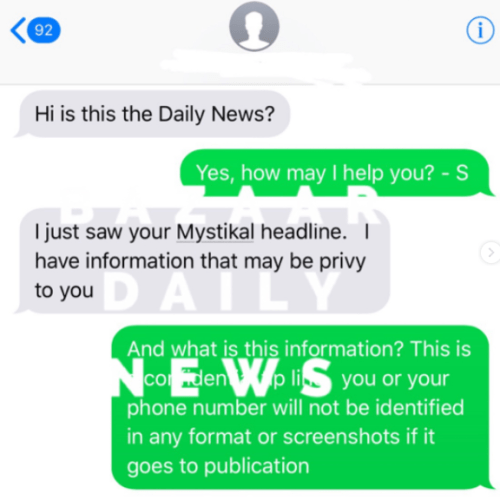 EXCLUSIVE:  Text messages unmask the truth about Mystikal 's accuser