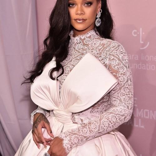 Rihanna turns heads at her 4th annual Diamond Ball
