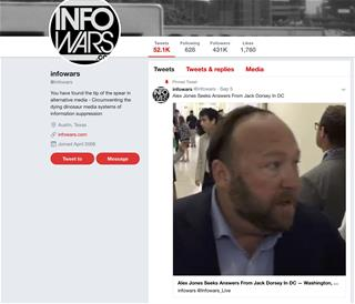 Paypal pulls plug on  conspiracy website Infowars