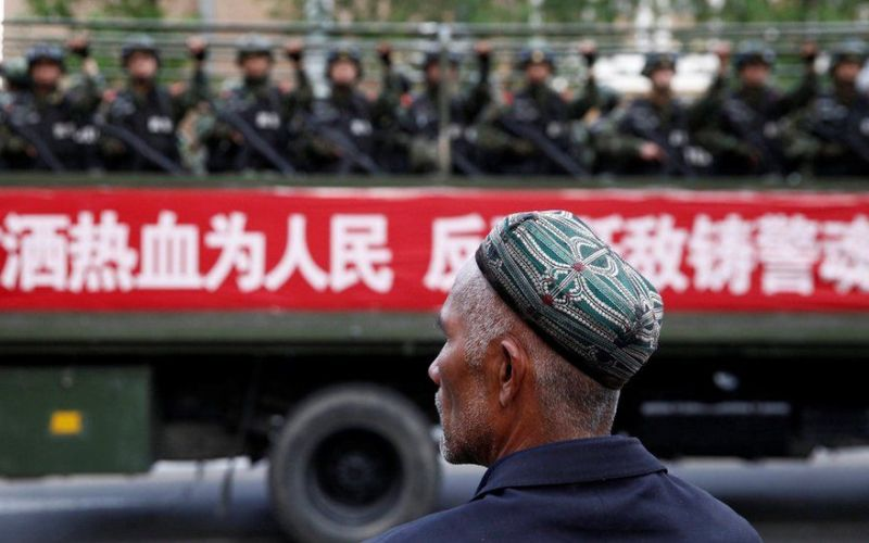 """Chinese  region just """"legalized"""" re-education camps: Report"""