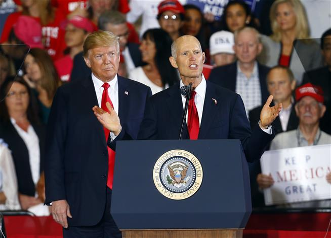 Drama rages on in Florida elections as Trump makes new claim