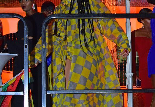 [Daily Pix]. Rihanna puts them yams on display in Barbados