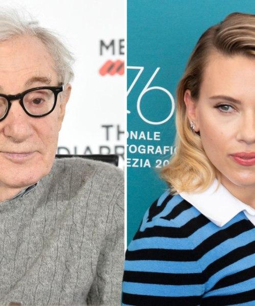 ScarJo, Hollywood 's self-declared racial superhero defends Woody Allen