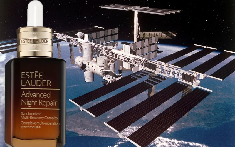 Estée Lauder is sending products into Space