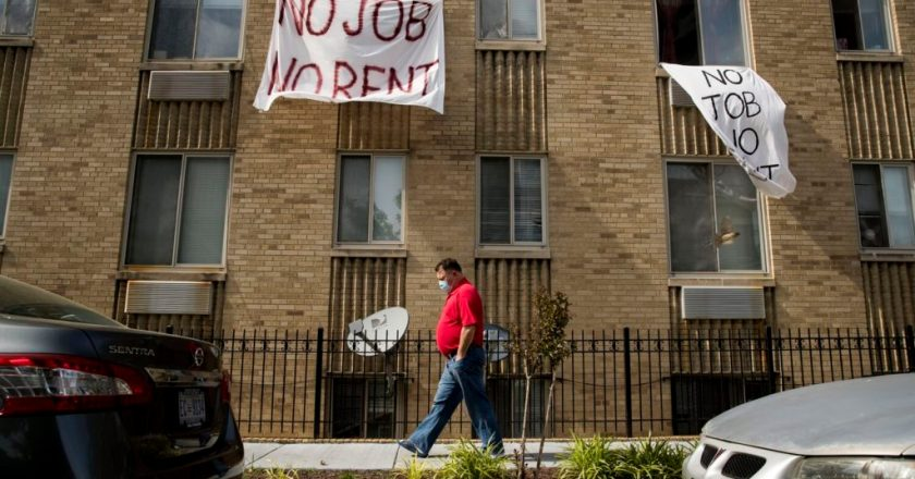 The CDC just banned evictions in the U.S all together until 2021