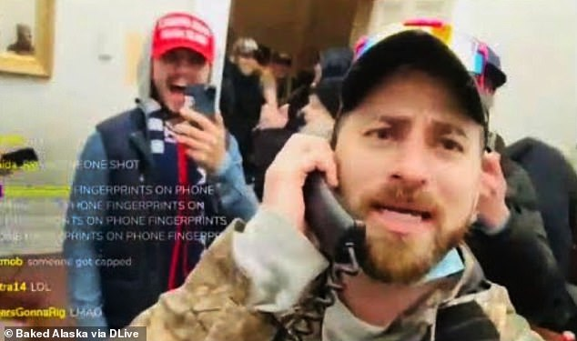 Internet fraudster Baked Alaska arrested for his role in the Capitol riots