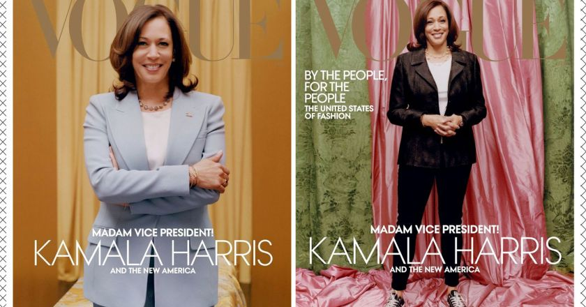 Anna Wintour denies that Vogue intentionally did Kamala Harris wrong although nobody's convinced