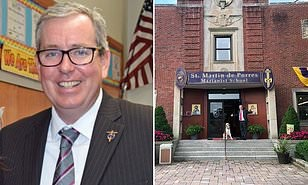 A white headmaster in New York has been placed on leave after forcing a Black student to kneel when apologizing