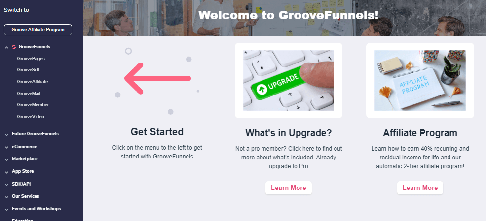 GrooveFunnels Free Trial