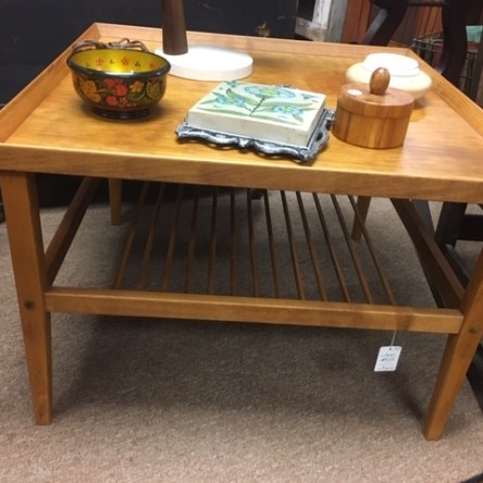 Scandinavian Mid Century Modern Side Table