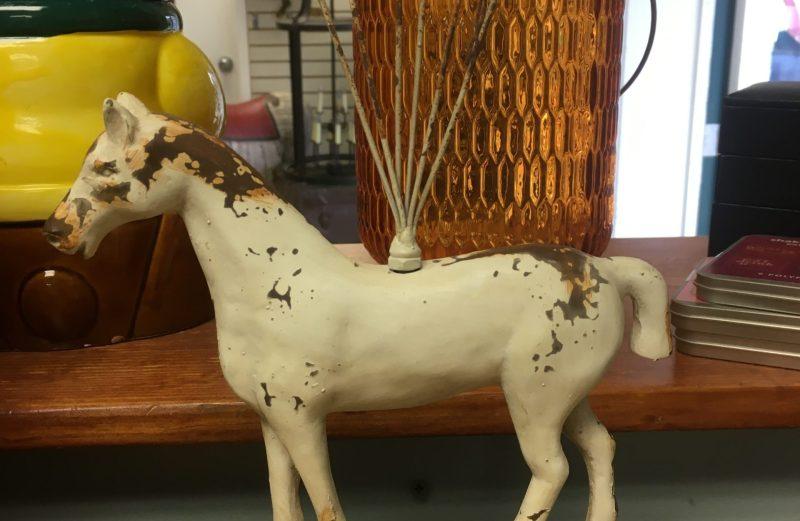 Rustic Horse Photo Holder