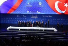 Photo of Turkish, Russian leaders hail 'historic' TurkStream project