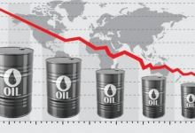 Photo of Oil prices hit 14-month low with coronavirus fears