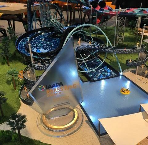 Polin Waterparks Launches The World's Largest Bowl Slide Time Rider 1