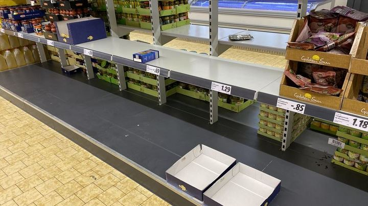 Coronavirus disrupting food supply in Europe 1