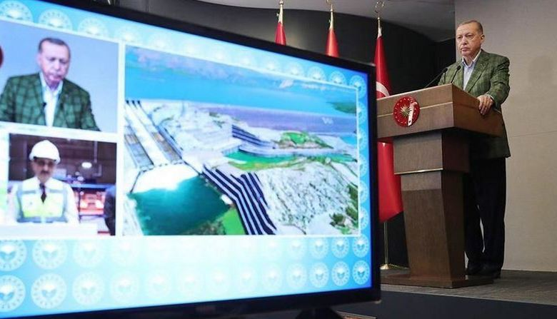 Turkey inaugurates Ilisu Dam power plant 1
