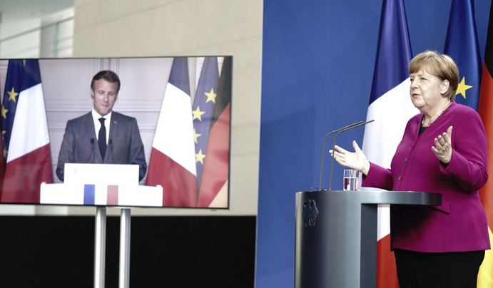 Germany, France propose virus recovery fund for EU economy 1