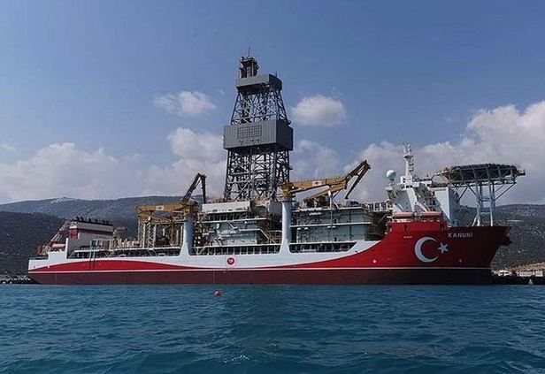 Turkish vessel preparing to start drilling in Black Sea 1