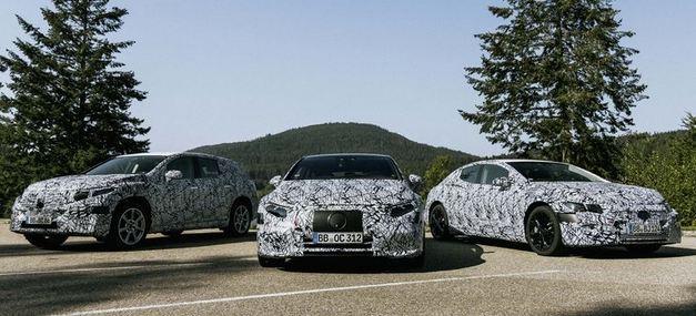 Mercedes Confirms EQS and EQE SUVs, Full Lineup of EV Models 1