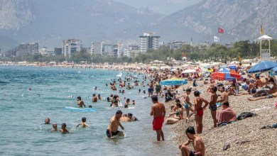 The number of tourists in Antalya reached 3 million 276 thousand 627 22