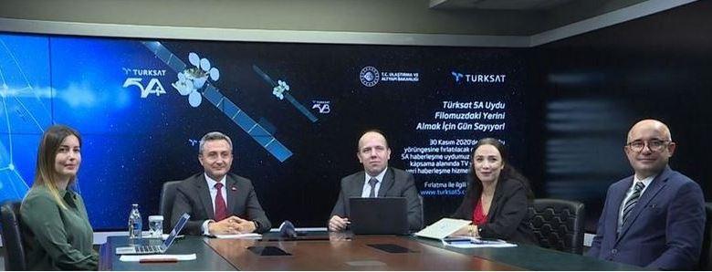 Turkey to launch Turksat 5A satellite in December 1