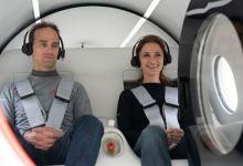 First Passengers Travel Safely on ultra fast Hyperloop transportation system 10