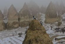 Snow blankets lure tourists in Cappadocia, Turkey 2