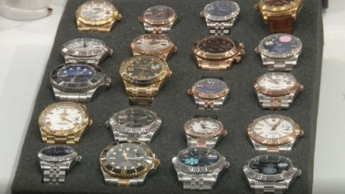 Istanbul: luxury branded fake watches & glasses were seized in Grand Bazaar 8