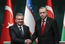Turkish, Uzbek leaders discuss bilateral ties 3
