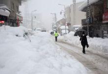 Snowfall thickness reached 1.5 meters in Beytussebap, Sirnak 10