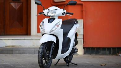 The new light-weight motorcycle 'Honda Dio' will be launched in Turkey 5